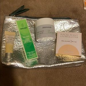 Ipsy bag and 4 skincare makeup minis